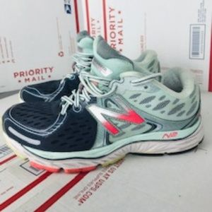 New Balance Womens 1260 V6 Pink Running Sneakers W1260pw6 Size 8 Clothing, Shoes & Accessories Athletic Shoes